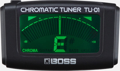 Boss TU-01 Clip On Chromatic Tuner
