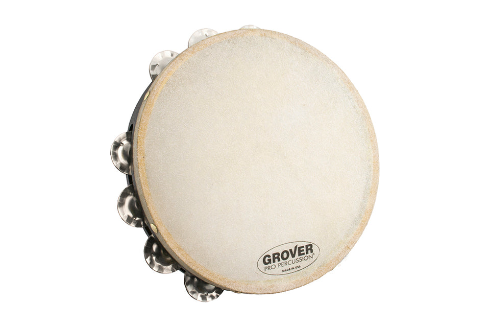 Grover T1/SS Spanish Silver Single-Row Tambourine