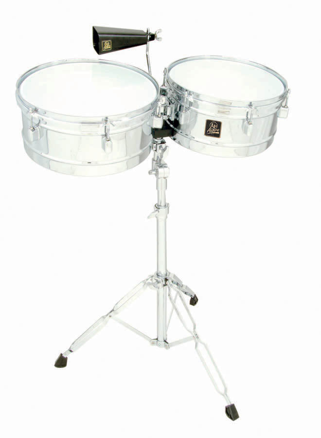 "LP LPA256 Aspire 13"" And 14"" Timbale/Chrome"