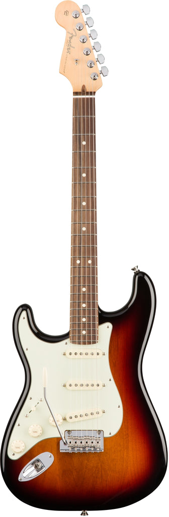 Fender American Professional Stratocaster Left-Handed Electric Guitar - Rosewood Fingerboard, 3 Color Sunburst