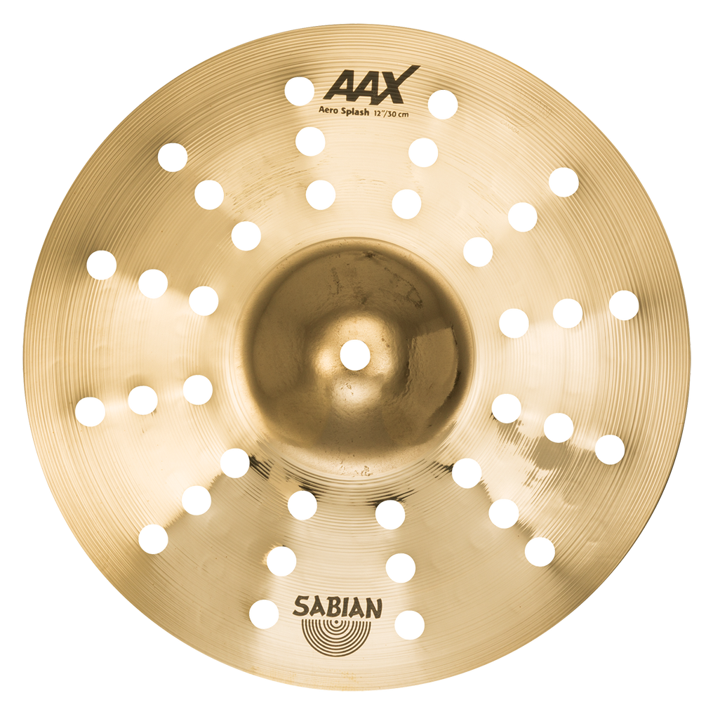 Sabian AAX Aero Splash Brilliant Cymbal