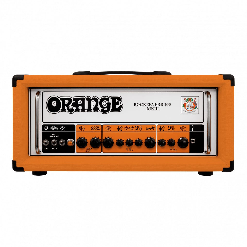 Orange Rockerverb RK100H MKIII 100W Guitar Amp Head - Orange