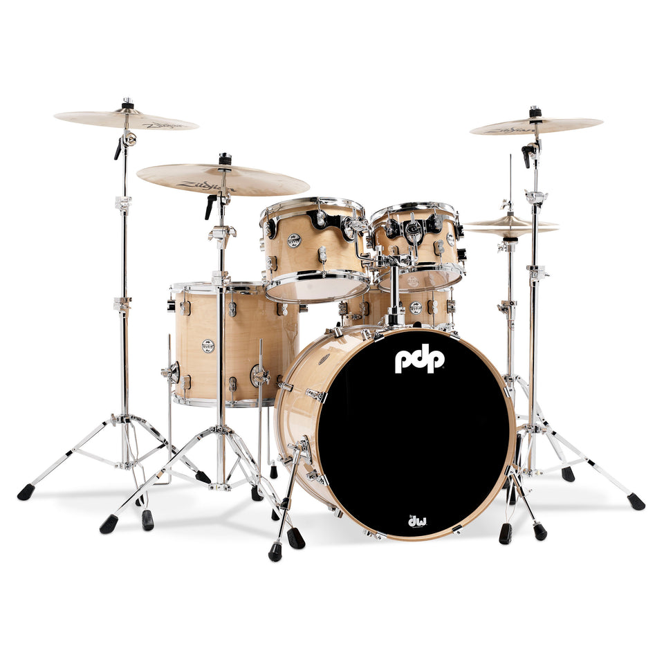 "PDP Concept Maple 5-Piece 22"" Lacquer Shell Pack"