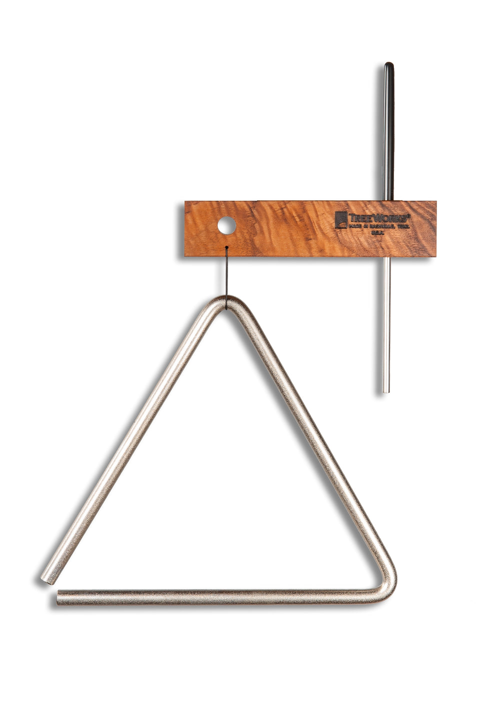 Treeworks TRE-HS08 8-Inch Triangle W/ Beater/Striker & Holder