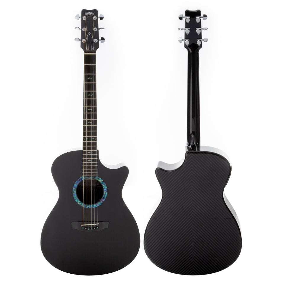 Rainsong CO-OM1000N2 Orchestra Model Carbon Fiber Acoustic Electric Guitar