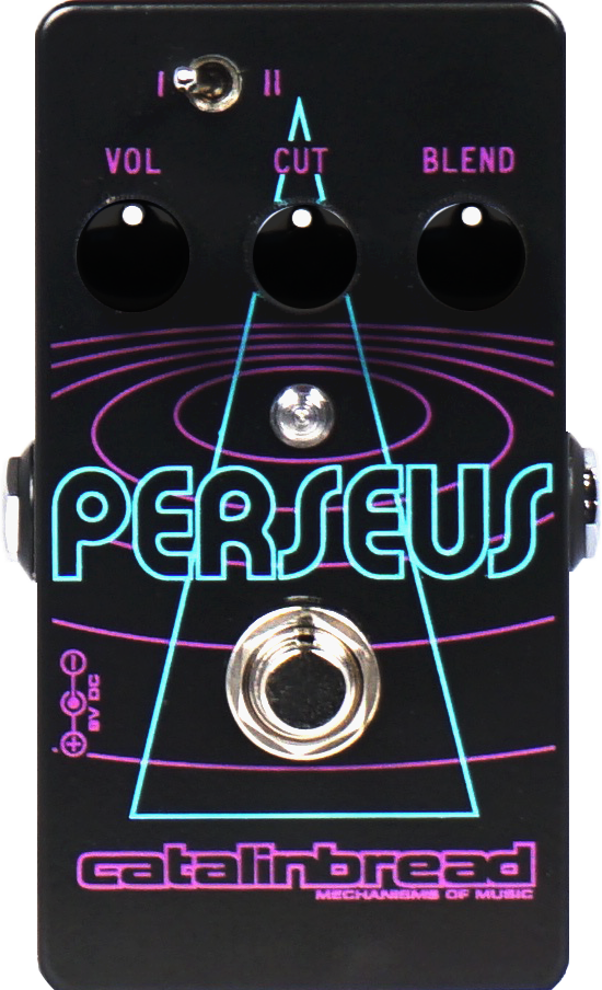 Catalinbread Perseus Sub-Octave Fuzz Effects Pedal