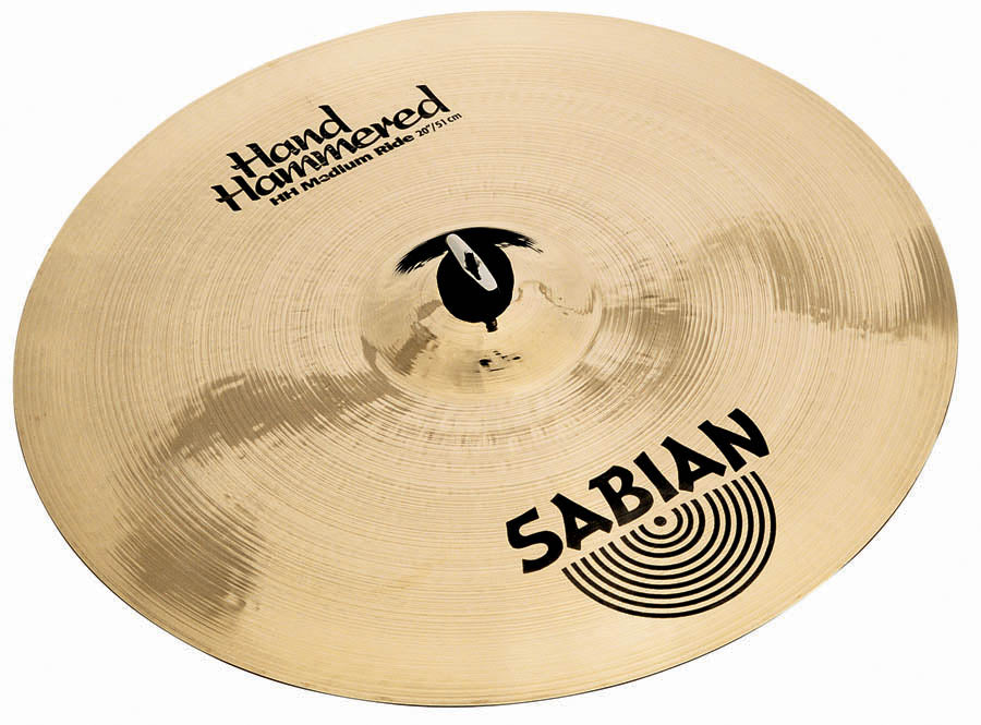 "Sabian 20"" HH Medium Ride Cymbal Brilliant Finish"
