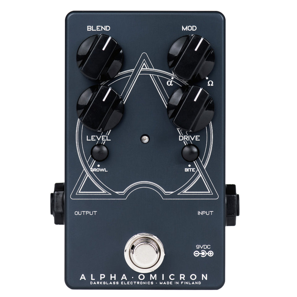 Darkglass Electronics AOM Alpha Omicron Bass Preamp Overdrive Pedal