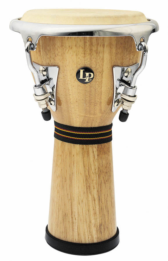 LP LPM196-AW Music Collection Wood Djembe, Mini Tunable