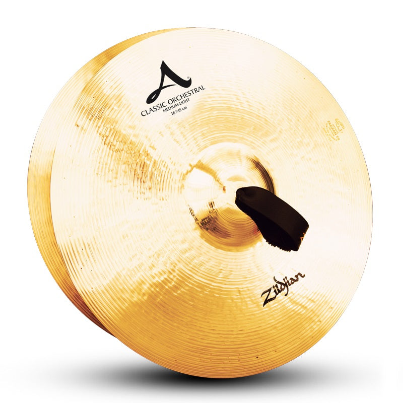 "Zildjian 18"" A Classic Orchestral Selection Medium Light Cymbals - Pair"