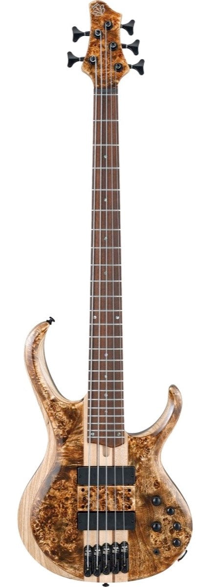 Ibanez BTB845VABL Bass Workshop 5 String Electric Bass - Antique Brown Stain Low Gloss