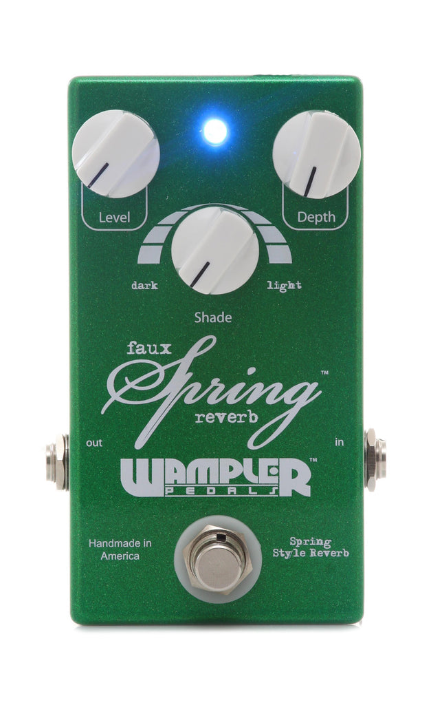 Wampler Faux Spring Reverb Effect Pedal