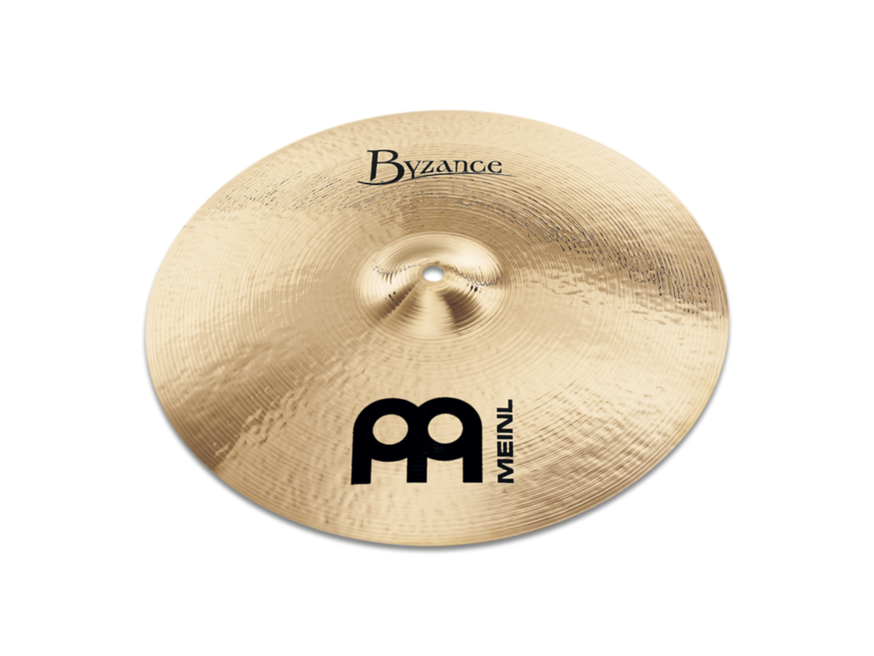 "Meinl 17"" Byzance Brilliant Medium Thin Crash Cymbal"