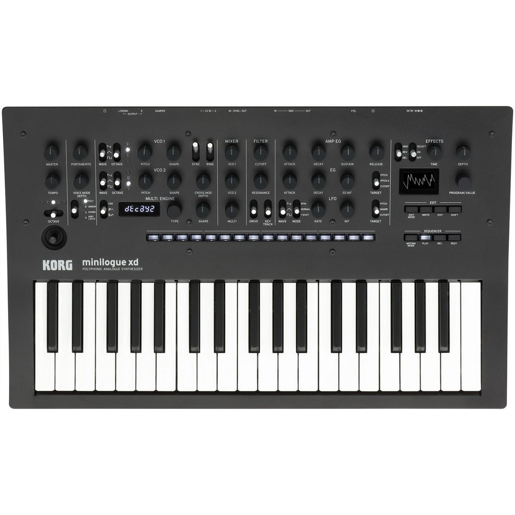 Korg Minilogue XD Polyphonic Analog Synthesizer