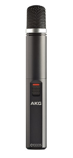 AKG C1000 S Cardioid / Hypercardioid Small Diaphragm Condenser Microphone