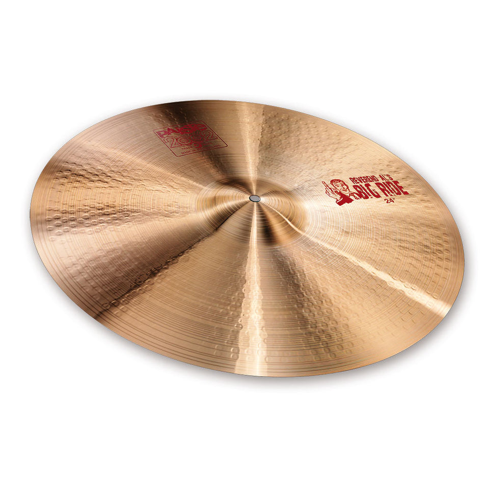 "Paiste 24"" 2002 Big Ride Cymbal"