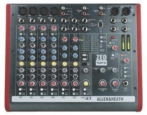 Allen & Heath ZED-10FX Live / Recording Mixer