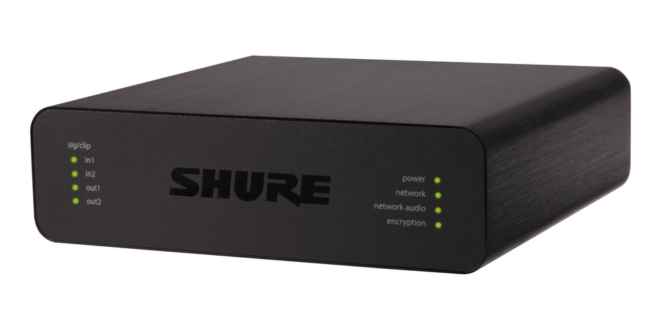 Shure ANI22-BLOCK Audio Network Interface