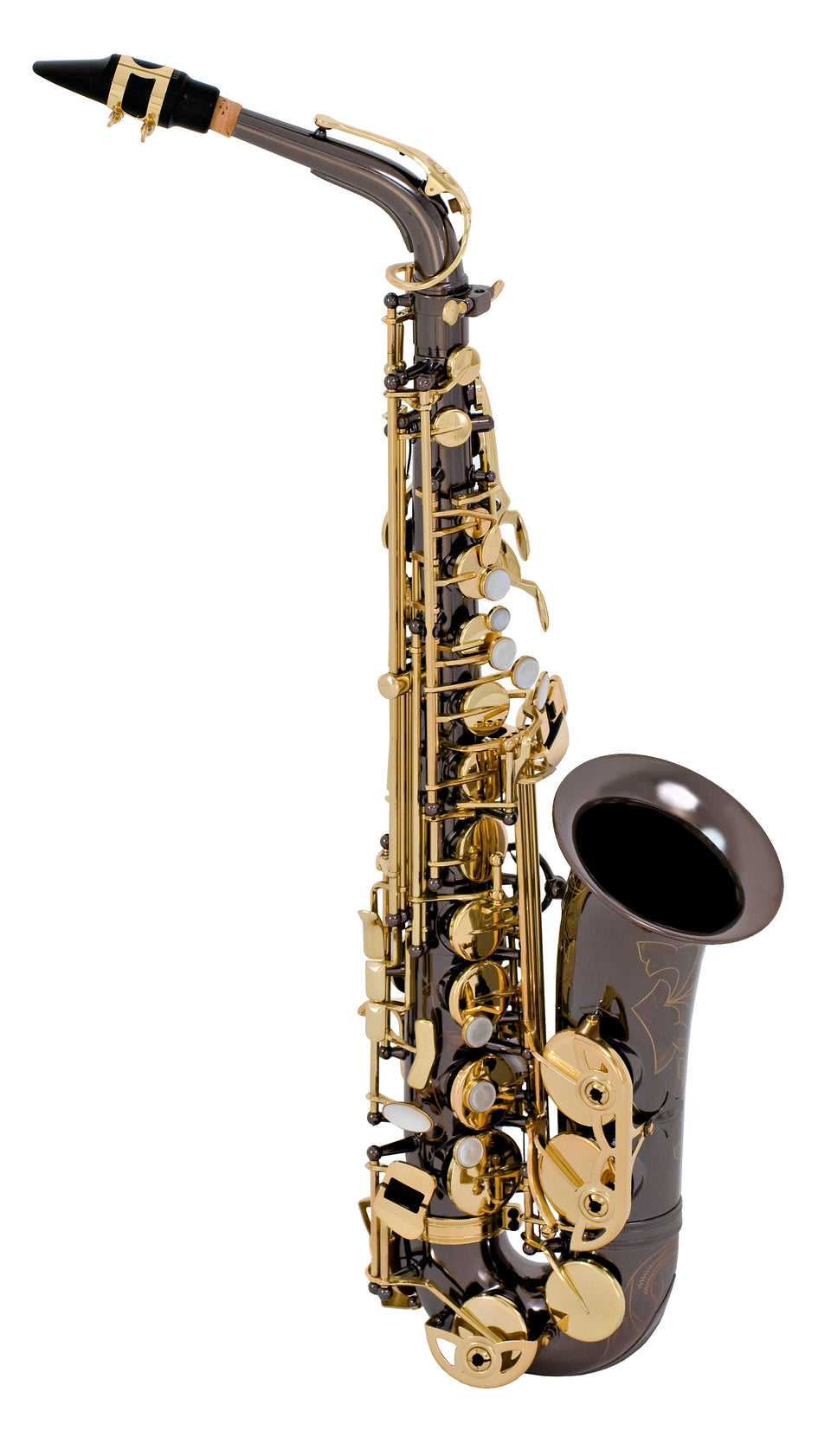 Selmer Model SAS280RB Step-Up Alto Saxophone Outfit, Black Lacquer
