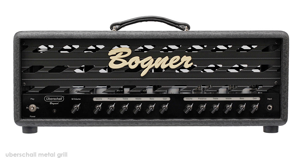 Bogner Uberschall EL34 100W Guitar Amplifier Head - Metal Grill