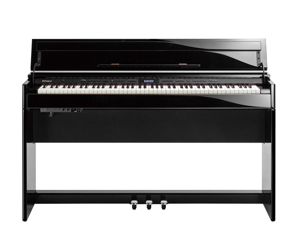 Roland DP-603 Home Piano W/ PB-500PEDPK2 Bench - Polished Ebony