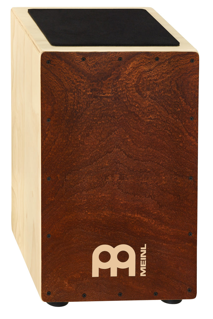 Meinl CAJ3FM-M Traditional String Cajon with Figured Mahogany Frontplate