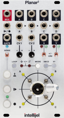 Intellijel Planar II Recordable Vector Joystick Module