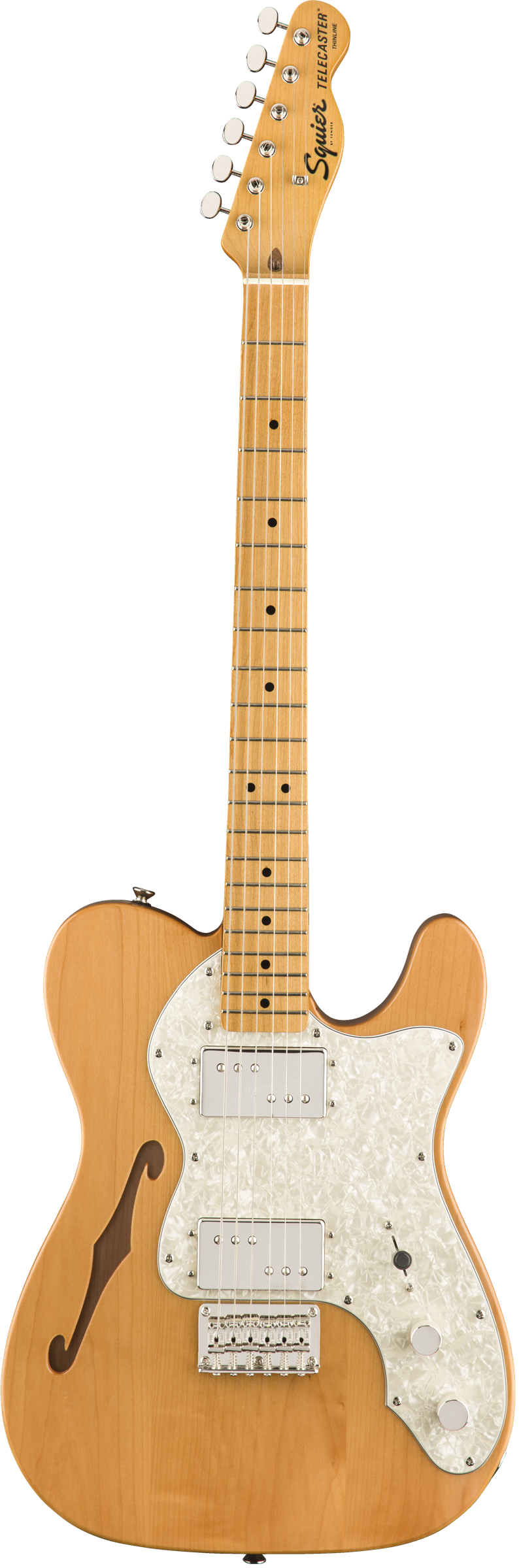 Squier Classic Vibe '70S Telecaster Thinline Electric Guitar