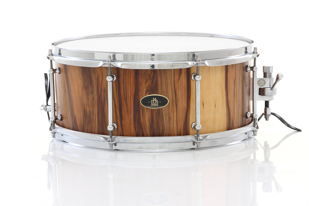 "RBH Drums 15"" x 6.5"" Monarch Snare Drum - Red Gum Vertical Grain"