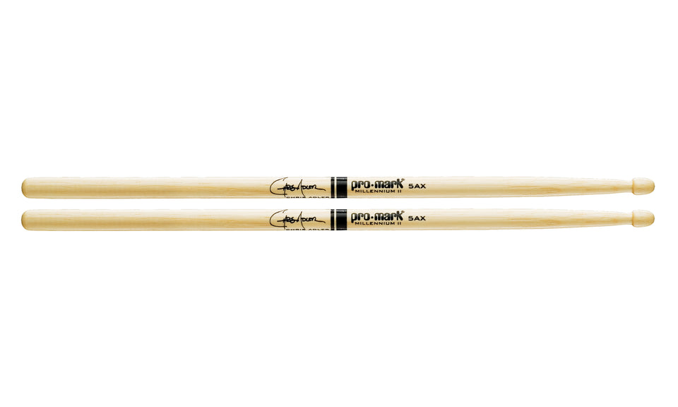 Promark TX5AXW Hickory 5AX Chris Adler Wood Tip drumstick