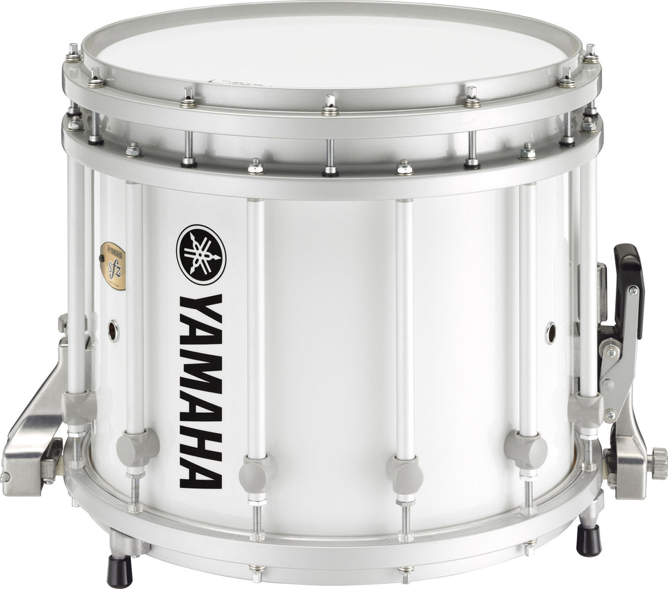 "Yamaha MS-9314 14"" x 12"" SFZ Marching Snare Drum - White"