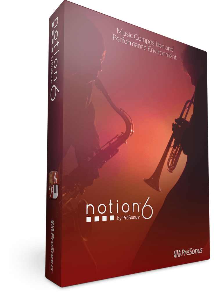PreSonus Notion 6: Box + License