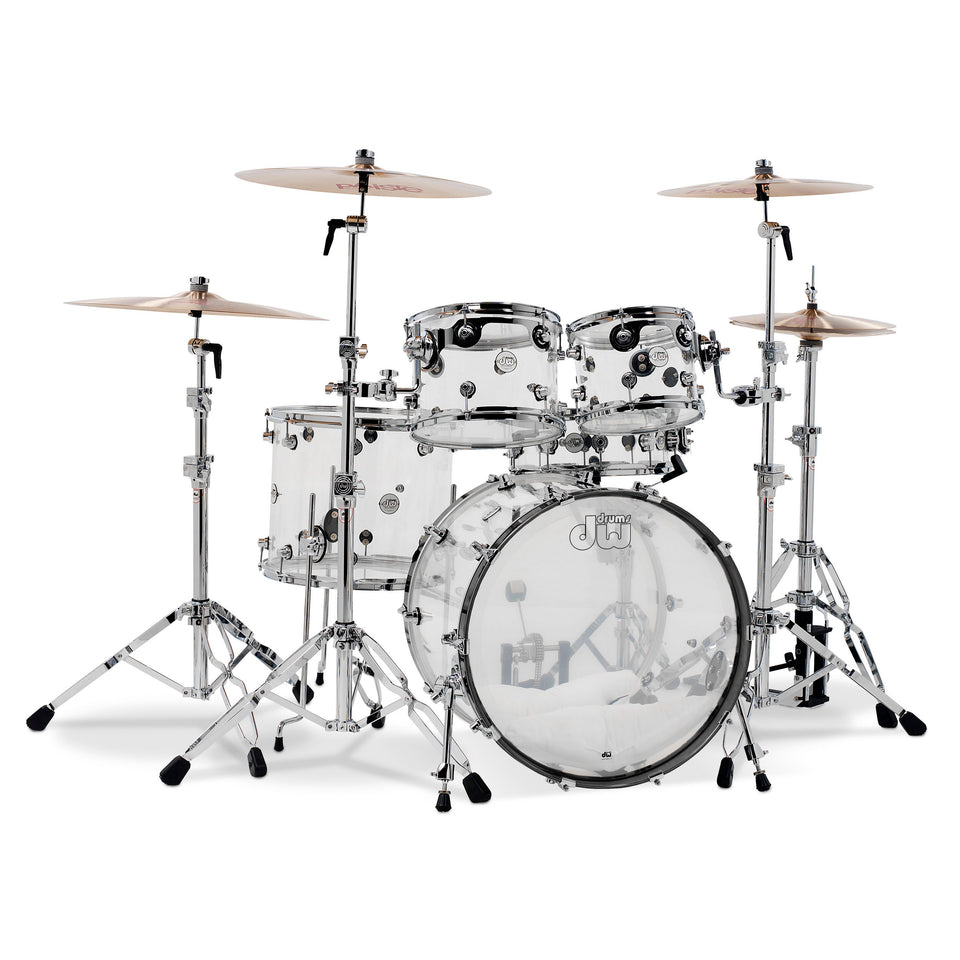 "Drum Workshop Design Series Acrylic 22"" 5-Piece Shell Pack"