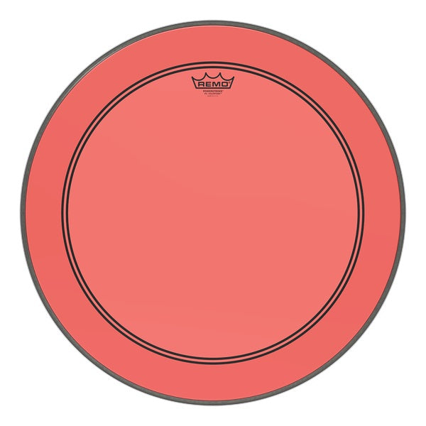 Remo Powerstroke P3 Colortone Bass Drumhead - Red