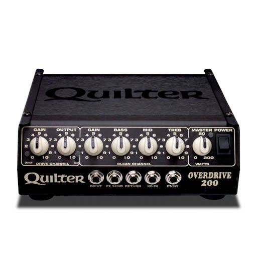 Quilter OverDrive 200 200W Guitar Amplifier Head