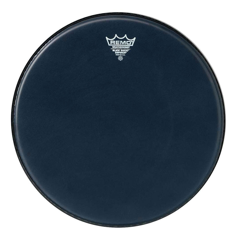 "Remo 18"" Black Suede Emperor Drum Head"