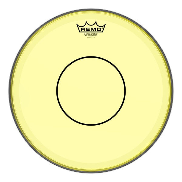 Remo Powerstroke 77 Colortone Drumhead - Yellow