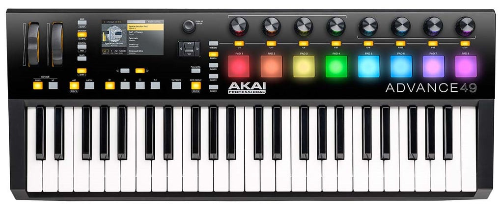 Akai Advance 49 Keyboard Virtual Instrument Production Controller