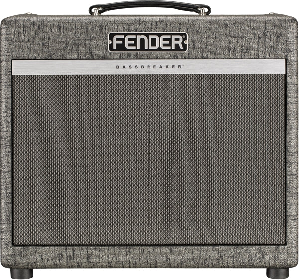Fender Bassbreaker 1x12 15W Tube Guitar Combo Amplifier - Gunmetal