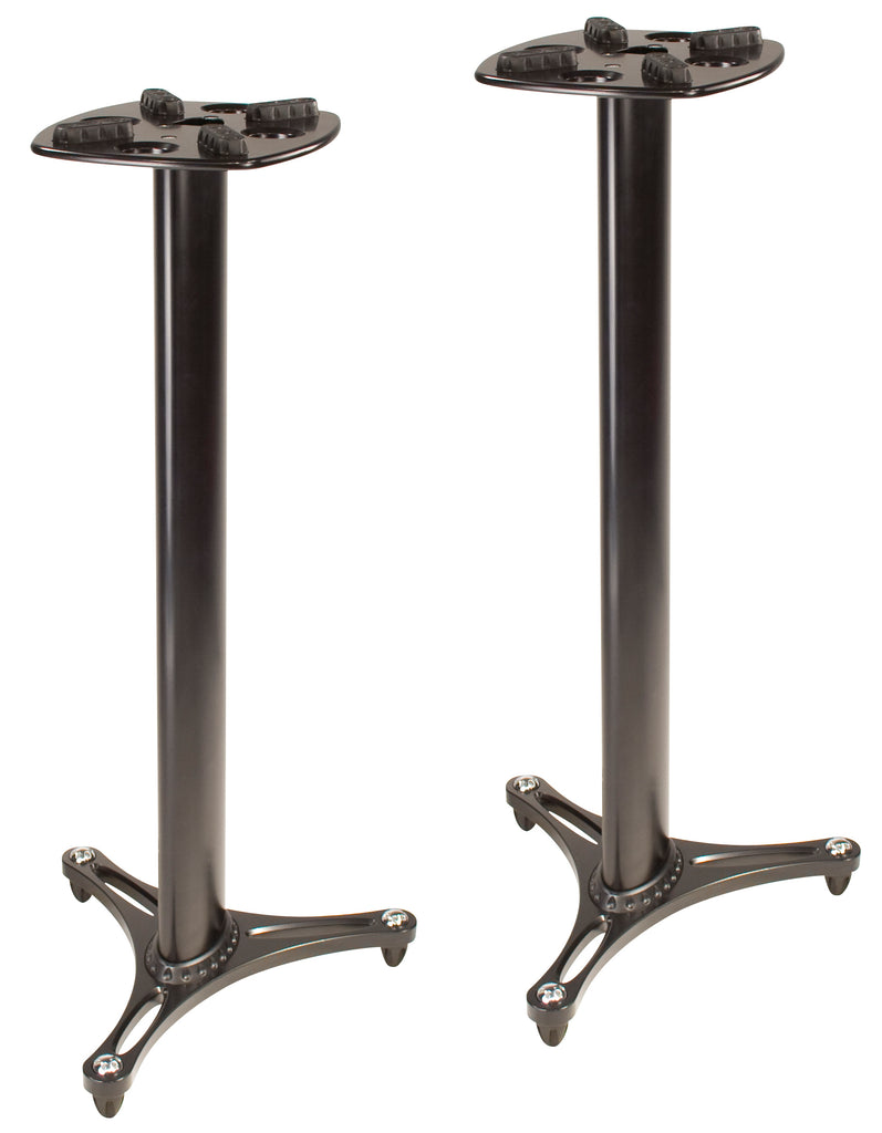 Ultimate Support MS90/45B Studio Monitor Stand Pair - Black