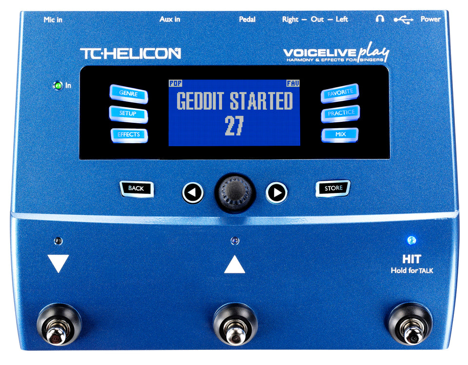 TC Helicon VoiceLive Play Vocal Effects Processor