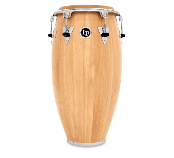 LP LP559X-AWC Classic Series Wood Conga, 11 3/4-Inch, Natural/Chrome