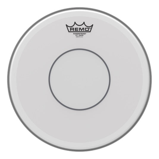 "Remo 13"" Powerstroke 77 Coated Clear Dot Snare Drum Head"
