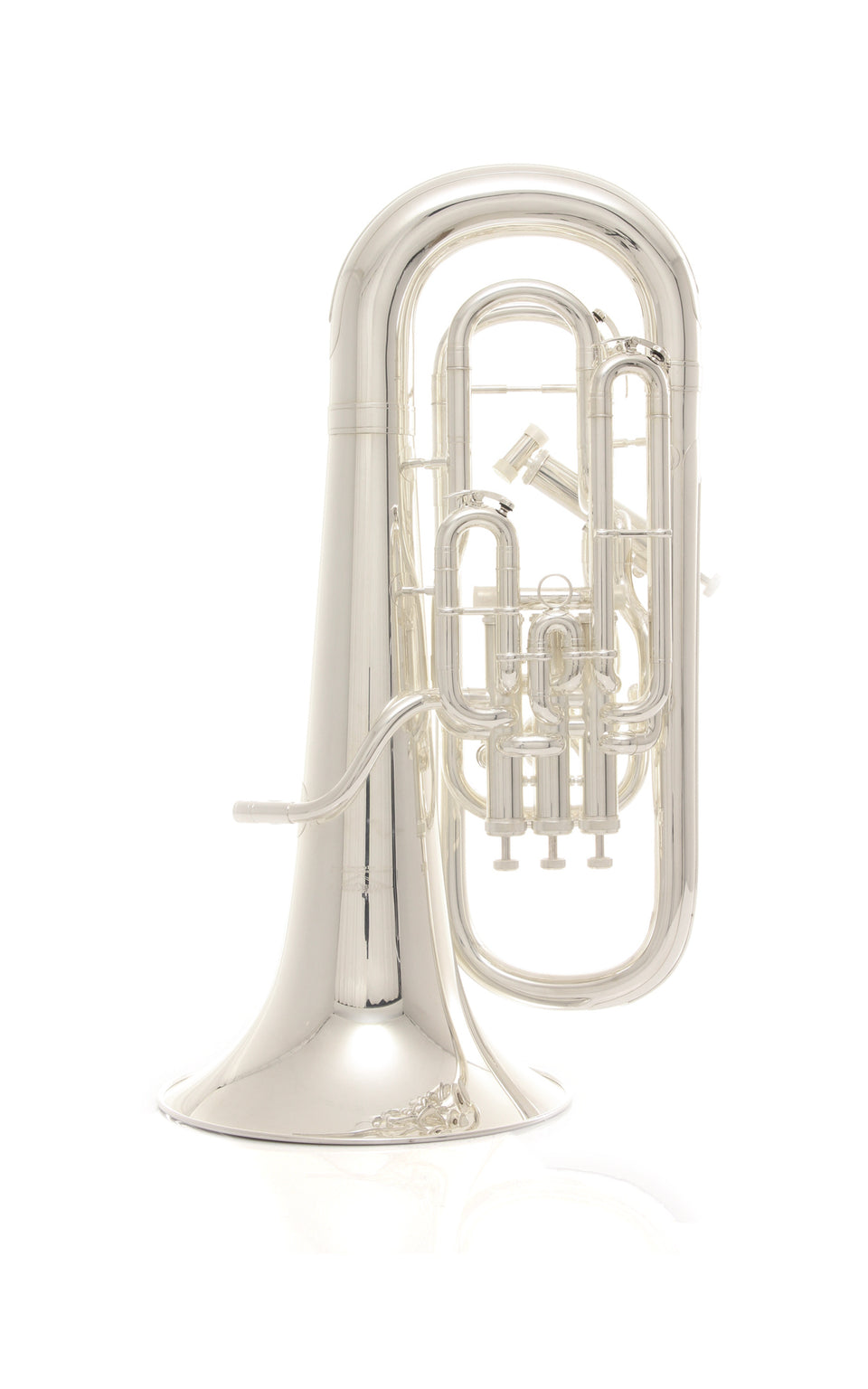 Willson 2950S Compensating Euphonium - Silver Plated With Case