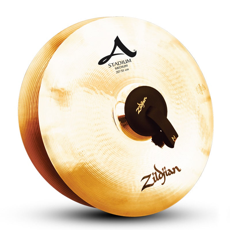 "Zildjian 20"" A Stadium Medium Cymbals - Pair"