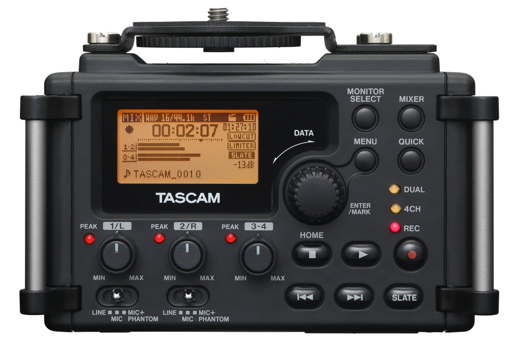 Tascam DR-60D MKII 4 Channel Linear PCM Recorder