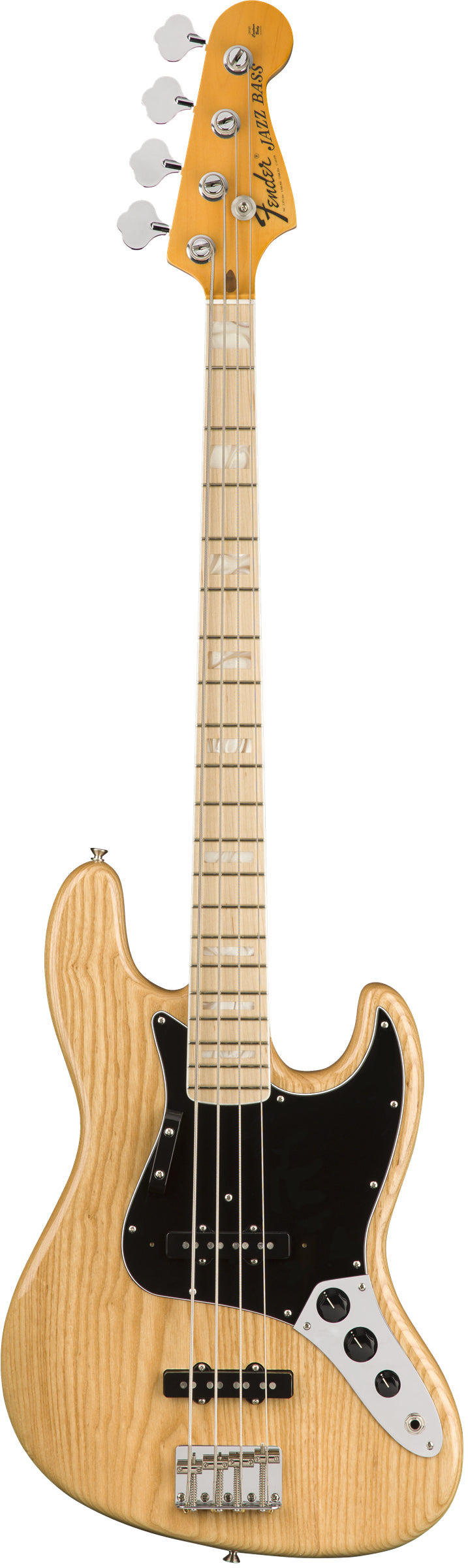 The Fender American Original '70s Jazz Bass, Maple Fingerboard, Natural