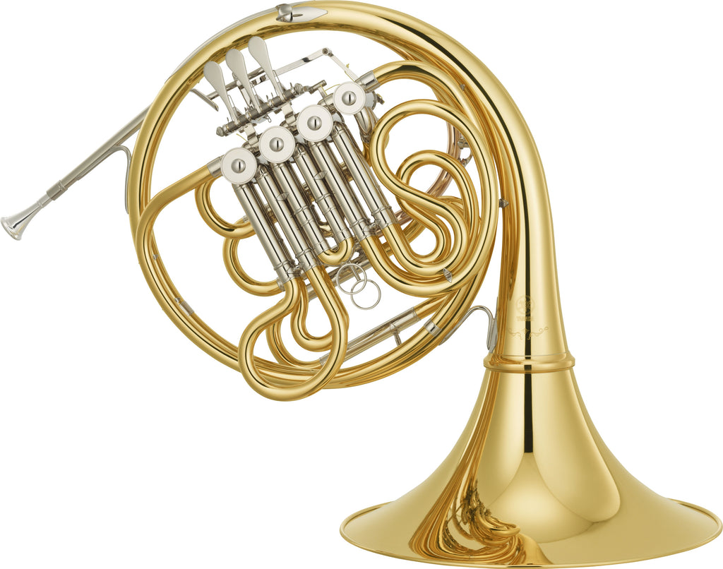 Yamaha YHR-671D French Horn - Professional Geyer Wrap Detachable Bell