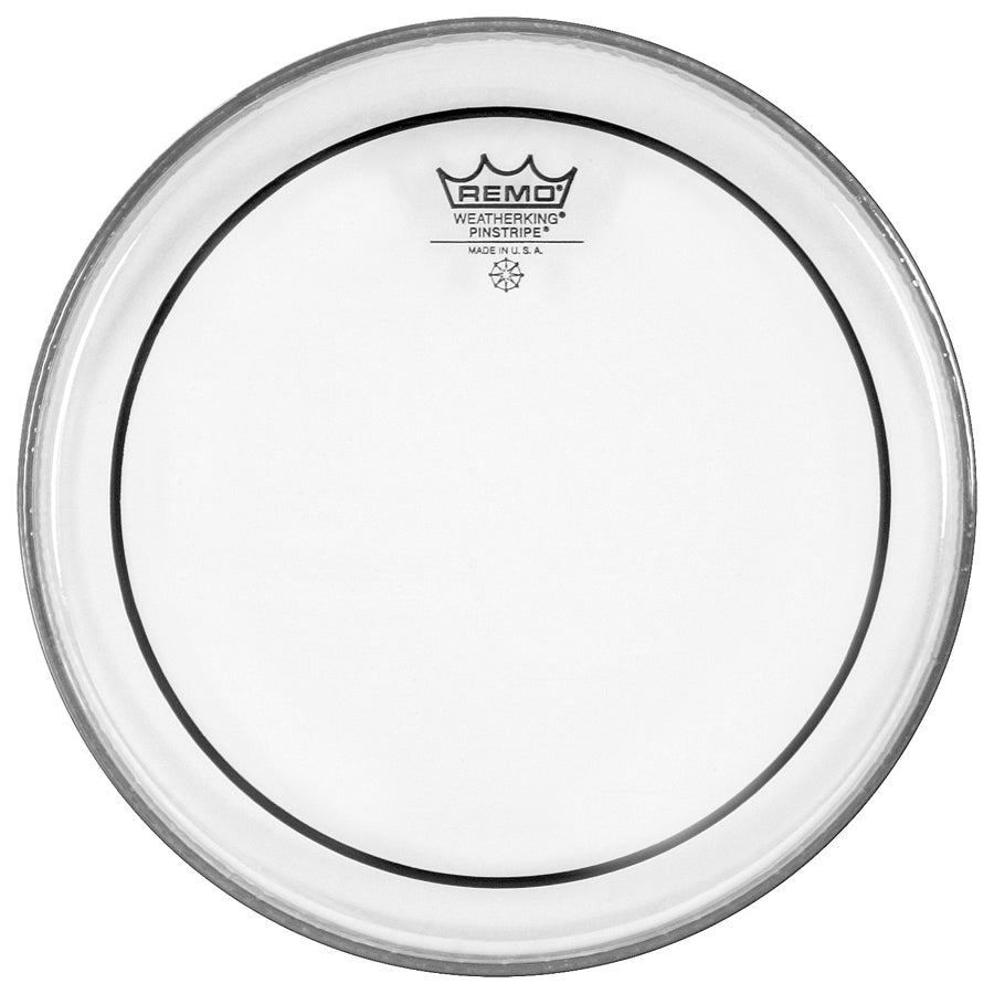 "Remo PS1318-00 Pinstripe Clear 18"" Bass Drum Head"