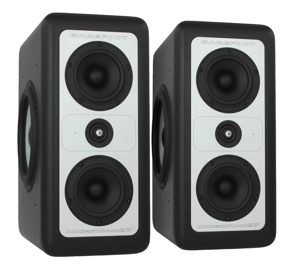 Barefoot Sound MicroMain27 Gen2 Studio Monitors - Pair